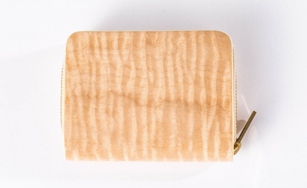 The Coin Case Beige